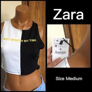 Zara TRF Cropped Top